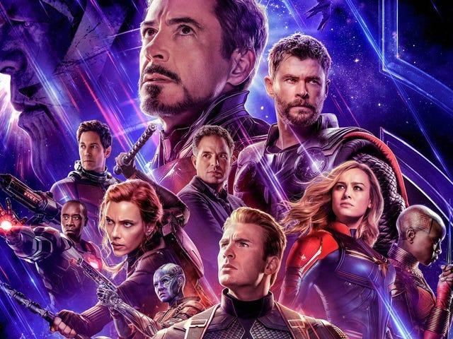Marvel olvidó incluir el nombre de una estrella de Avengers: Endgame en el póster de la película