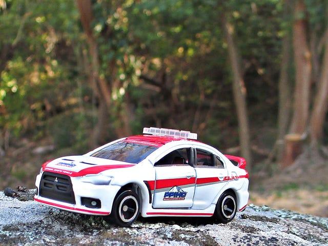 Land of the Rising Sun Day: Mitsubishi Lancer Evo Pikes Peak Safety Car