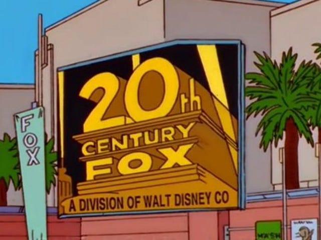 Despite Disney merger, The Simpsons is staying put on Fox through season 32