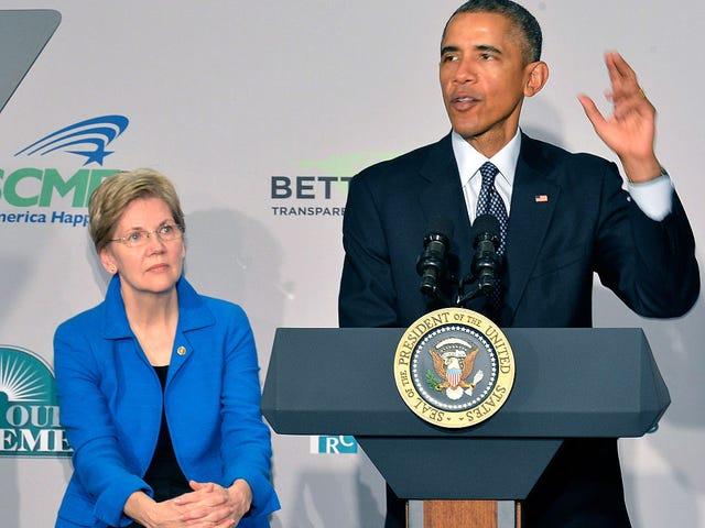 Is Forever President Barack Obama Secretly an Elizabeth Warren Fan? The Root Investigates