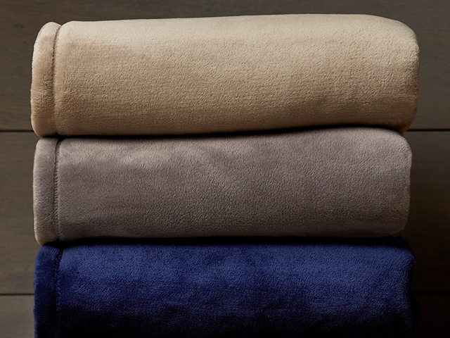 Warm Up With A Discounted Velvet Plush Blanket, Courtesy of Amazon