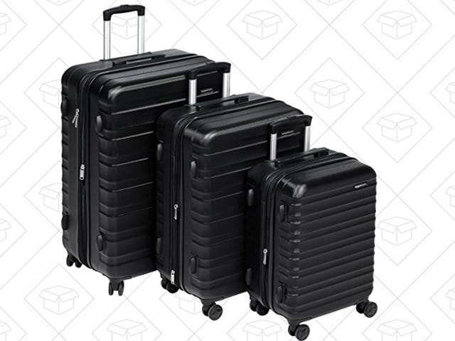 Upgrade to Three Pieces of AmazonBasics Luggage For $170
