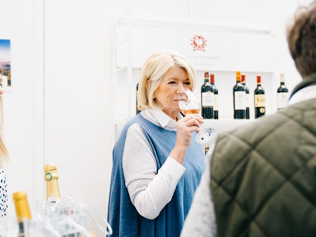 'You Can Have Ice in Your Wine': Prepping for Rosé Season With Martha Stewart
