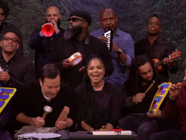 Well, This Is Cute: Janet Jackson Does a Classroom Instrument Remix of 'Runaway'