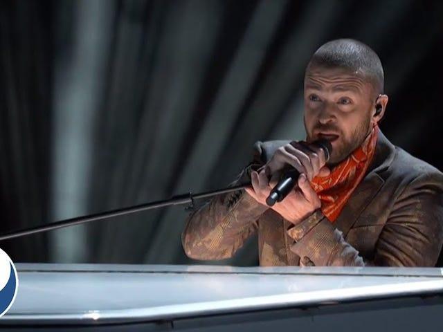 Show półfinałów Justina Timberlake'a w Super Bowl był jak zepsuty seks