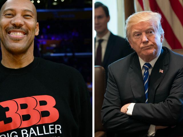 LaVar Ball vs. Donald Trump: The Epic CNN Smackdown