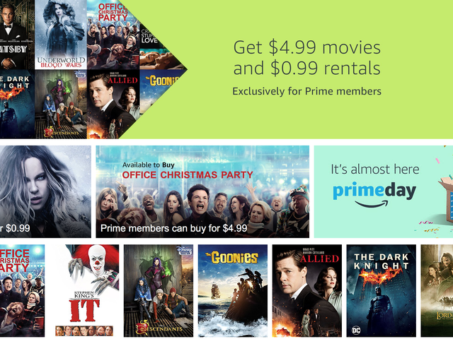 Amazon's Pre-Prime Day Digital Movie Sale Features Hundreds of Great Films