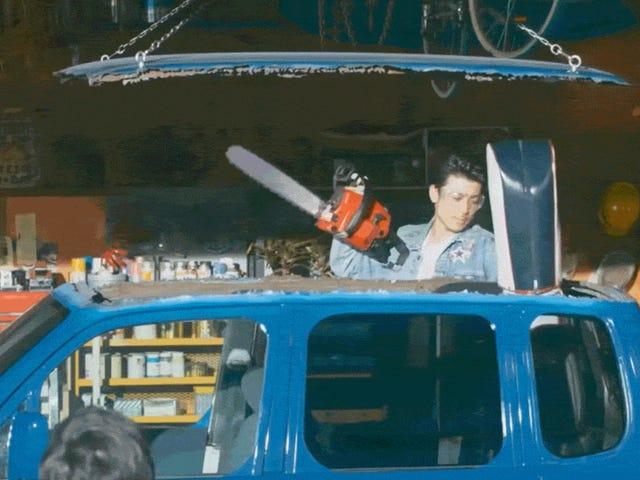 Die besten Werbespots der Welt zeigen einen gequälten Mann und sein Kei-Auto