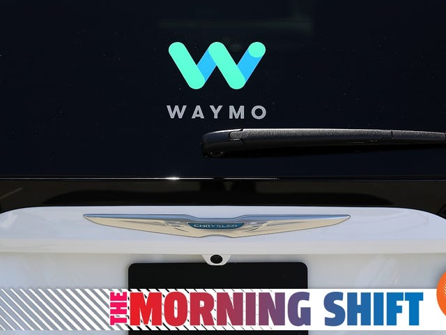 Waymo pide a NHTSA que elimine los estándares para vehículos autónomos