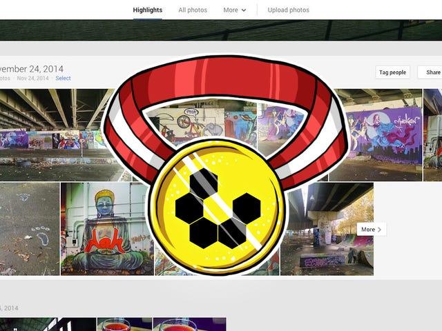 Most Popular Image Hosting Web Site: Google+ Photos