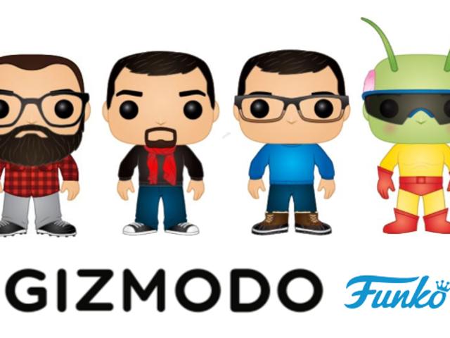Funko Pops de GIZMODO
