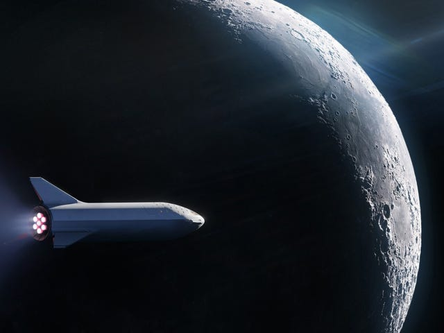 SpaceX Reboots Plan to Send Tourists Around the Moon—and It's About to Name the First Passenger