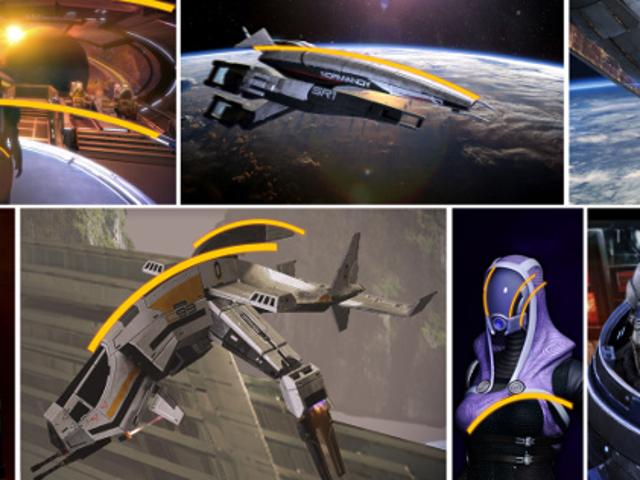 Bentuk Itu Di Mana Mana Dalam <i>Mass Effect</i>