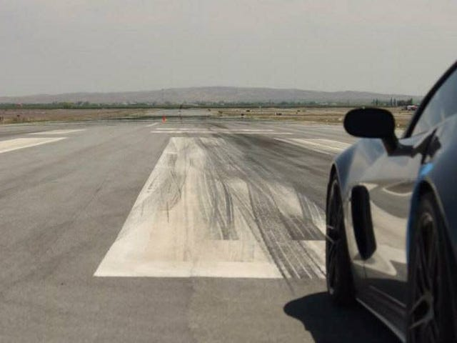Happiness is an angry V8 and a wide open runway. Kick the tires and light the fires, it's time for takeoff.