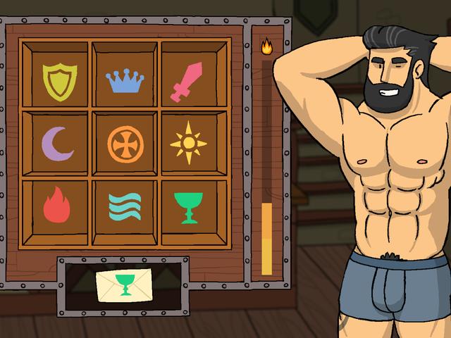 Sexiga medeltida män väntar på dig i Robin Morningwood