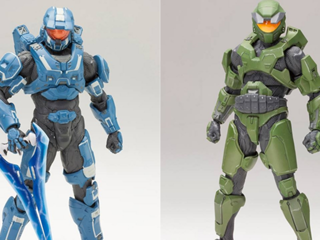 This Halo Figure Comes With Armour 'Expansion Packs'