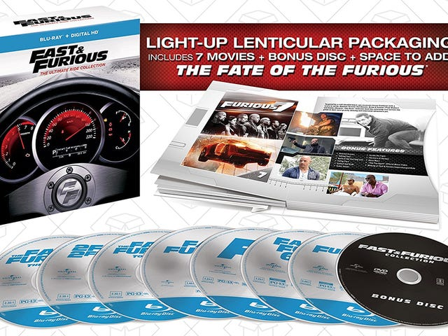 Preorder and Save on the Newest Fast & Furious Box Set