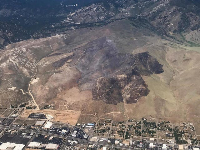 SheriffSays Campers Burning Poop in a Hole Started 500-Plus Acre Fire