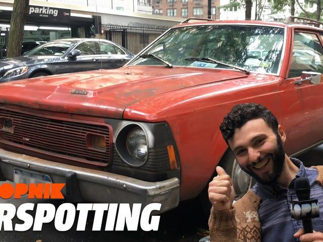Onko tämä AMC Gremlin, joka on Manhattanin parhaana pysyvästi jäänyt auto?