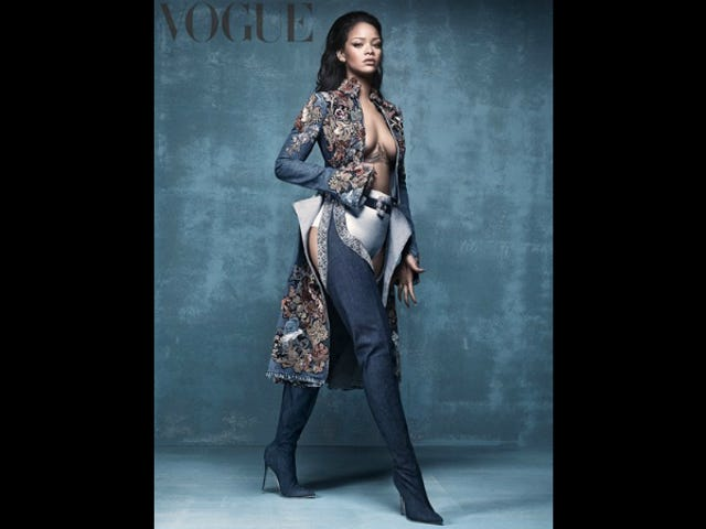 Can Anyone But Rihanna Pull Off Wearing These Crotch-High Manolo Blahnik Boots?