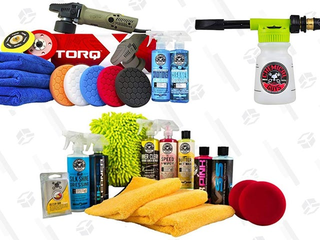 Don't Let Your Car Get Filthy This Winter, Save Up to 40% On Chemical Guys Products