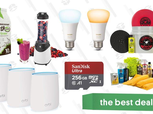 Thursday's Best Deals: Orbi Mesh Network, Philips Hue Lights, Chemical Guys, and More