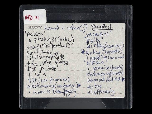 Chantajean a Radiohead con publicar unas sesiones de estudio robadas. La banda las saca como disco