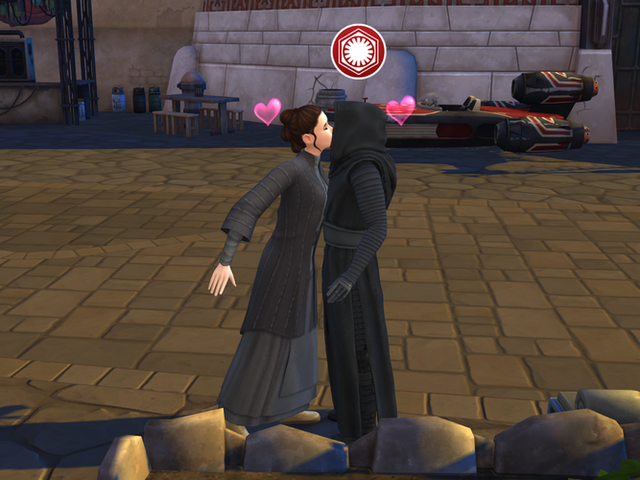 The Sims Fans Really Wanted Kylo And Rey To Make Babies