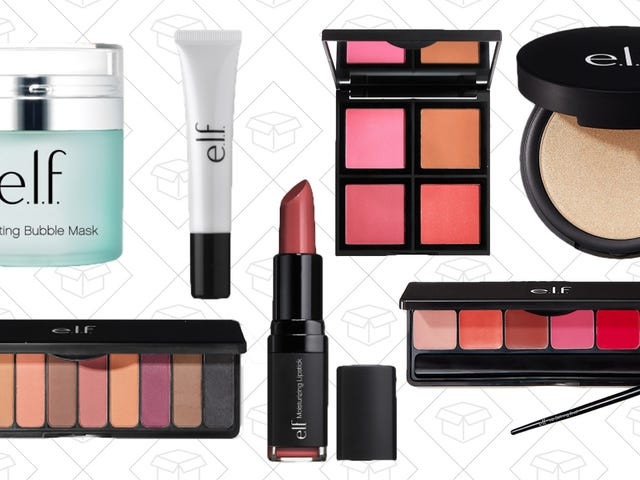 Your Entire $30+ Order From e.l.f. Cosmetics Is Half Off