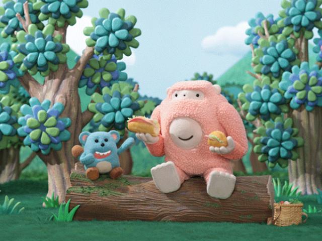 Foodie Monsters τρώνε το δρόμο τους προς την φιλία σε αυτό το λατρευτό Stop-Motion Παραμύθι