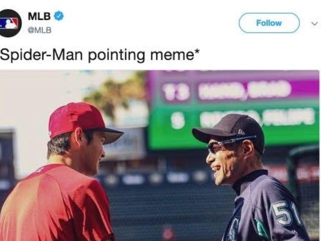 MLB Tweets, Deletes Dumb, Sweaty, Racist Joke About Ichiro And Shohei Ohtani