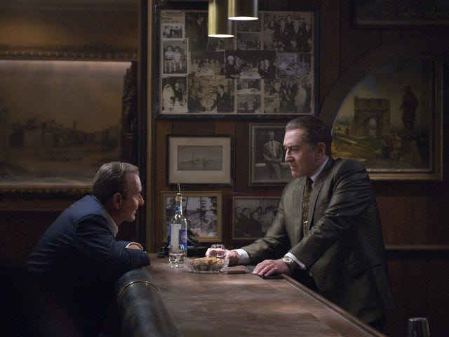 Martin Scorsese's The Irishman membuka Festival Filem New York-dan keranda untuk epik jenayah