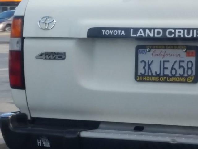 Oppos conosce un corridore FJ80 / LeMons?