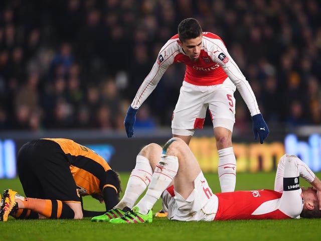 Arsenal FA Cup'ta Hala Yaşıyor, Ama Muhtemelen Her Yerde Öldü