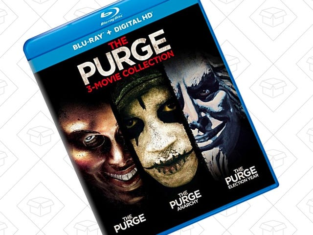 Grab A Killer Deal On 3-Movie The Purge Blu-Ray Collection