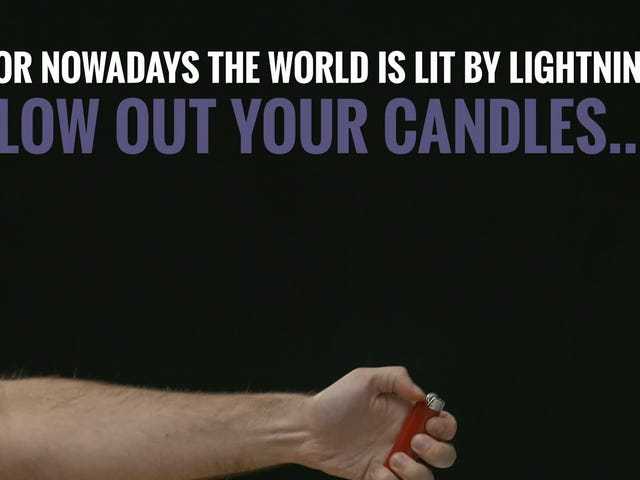 Just in Time for the End of the World: Badass Plasma Lighters [Updated]