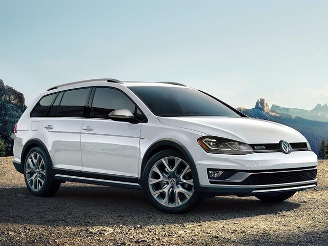 Volkswagen vain antoi sinulle enemmän vaihtoehtoja, jos haluat manuaalisen vaunun