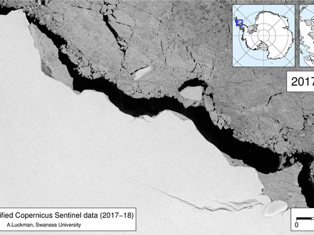 Narito Ano Ang Hugest Iceberg ng Antarctica Na Nagagawa Dahil Dahil Nabunggo Na Ito