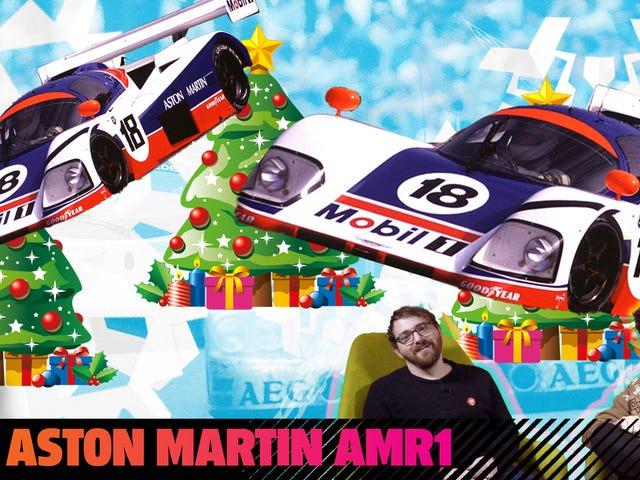 Το Aston Martin AMR1 ήταν ένα αυτοκίνητο αγώνα που κτυπά όλες τις αποδόσεις μόνο για να υπάρχει
