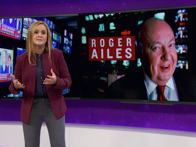 Samantha Bee advarer om, at Roger Ailes kan coach Donald Trump til at vinde debatten