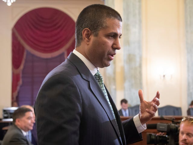 Ajit Pai Is Suddenly Very Concerned About Whether Tech Companies Are Censoring Conservatives