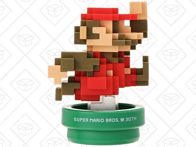 This $9 Amiibo Tuns Your Desk Into the Mushroom Kingdom