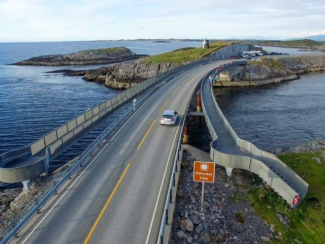 Η Νορβηγία μόλις χτύπησε ένα νέο παγκόσμιο ρεκόρ για πωλήσεις ηλεκτρικών αυτοκινήτων