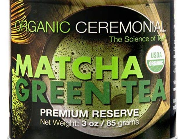 50% OF Matcha DNA Certified Organic Ceremonial Grade Matcha Green Tea, TIN CAN (3 Ounce) $12.45