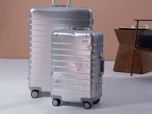 Away's Luxury Aluminum Luggage Will Get Better with Age