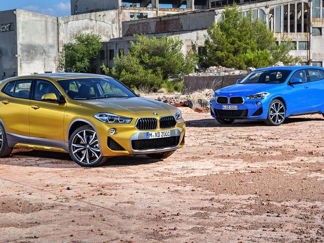 Bersiaplah untuk membenci BMW bahkan lebih: memperkenalkan X2