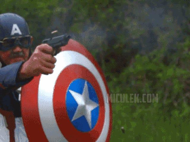 Is Captain America's Shield Really Bulletproof?
