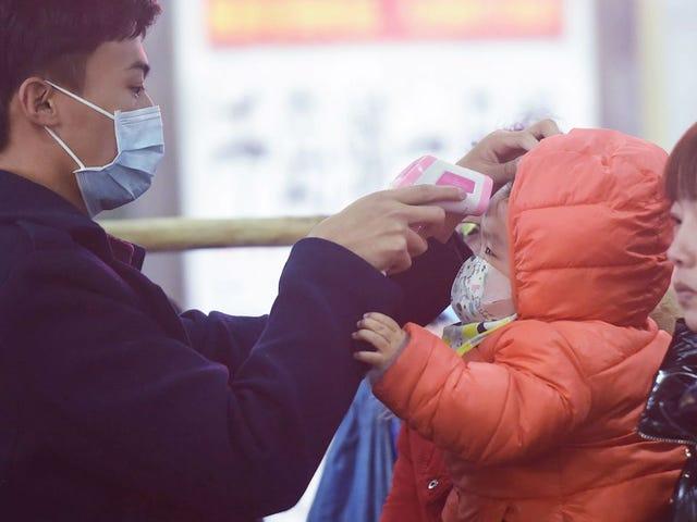 20 milioni in blocco mentre la Cina ferma il viaggio da tre città per un virus mortale