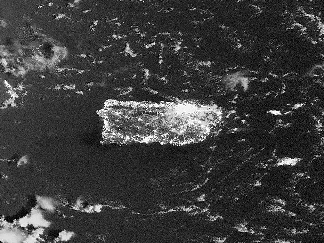 Citra Satelit Menunjukkan Luasnya Pembesaran Besar Puerto Rico