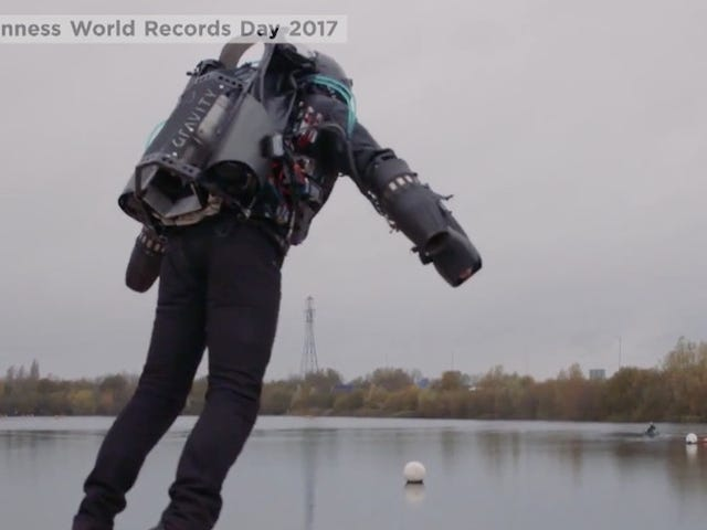 'Real Life Iron Man' Sets Record For Fastest Jetpack Flight